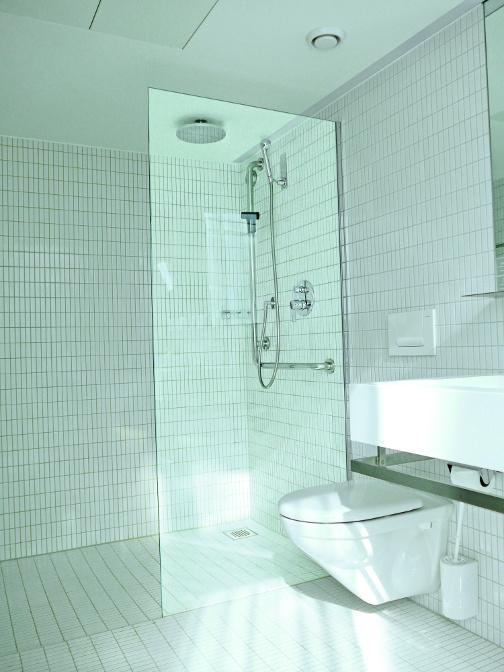Duschen Festverglasung