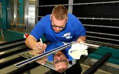 Glasvermessung und Verarbeitung