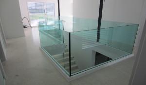 Glasgeländer für den Innenbereich