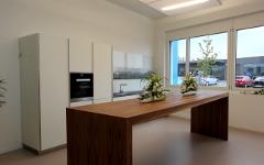 Küchenabdeckungen und Küchenrückwände aus Glas
