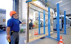 Transport von Glas mit unserem Montageservice