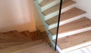 Treppenverglasung